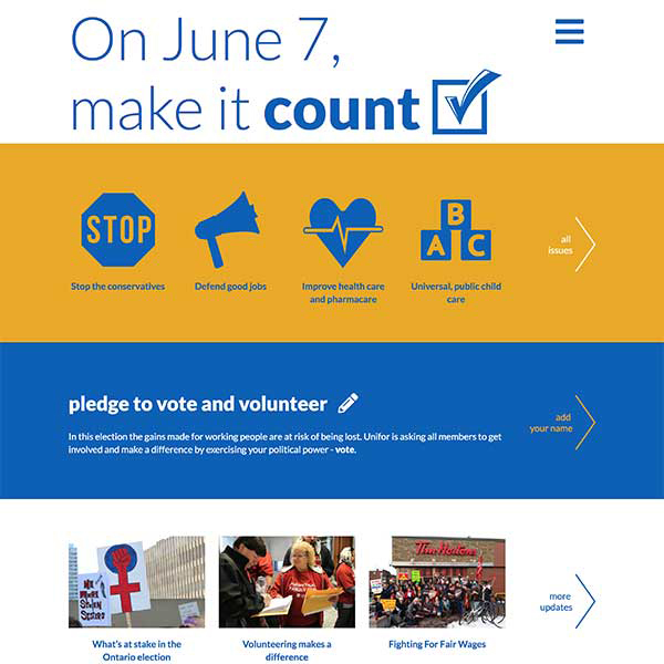 Unifor: Make It Count