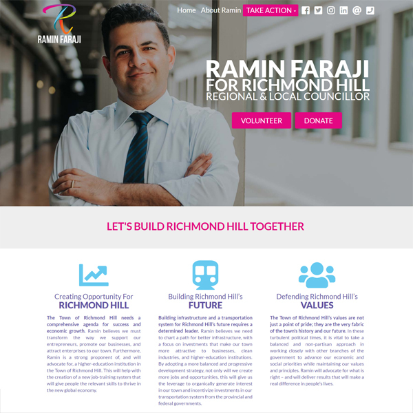Ramin Faraji for Richmond Hill