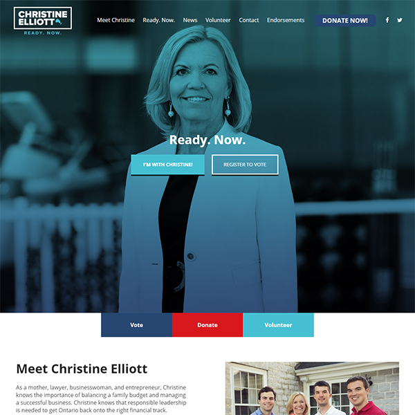 Christine Elliott Leadership Campai