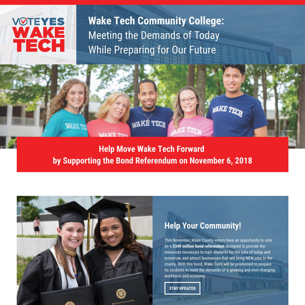 Vote Yes Wake Tech