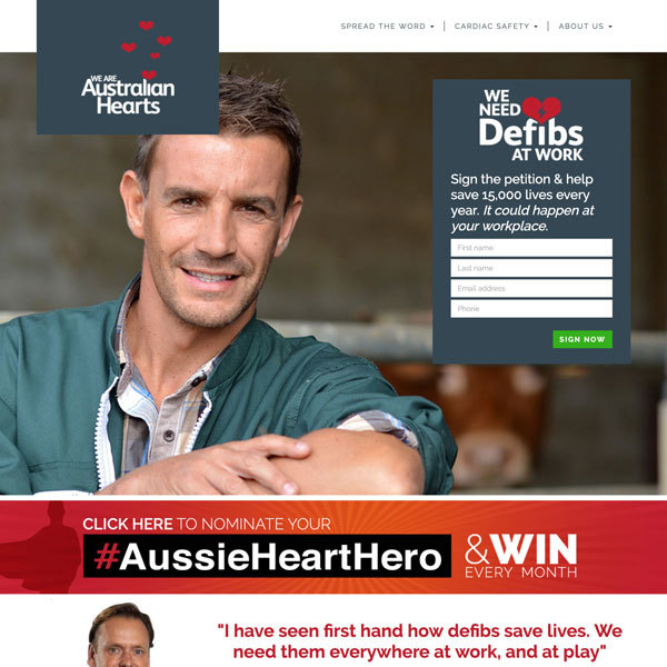 Australian Hearts