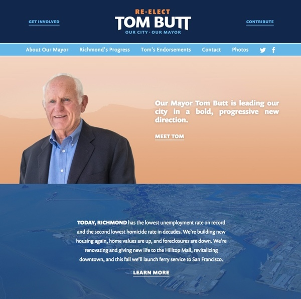 Tom Butt For Mayor