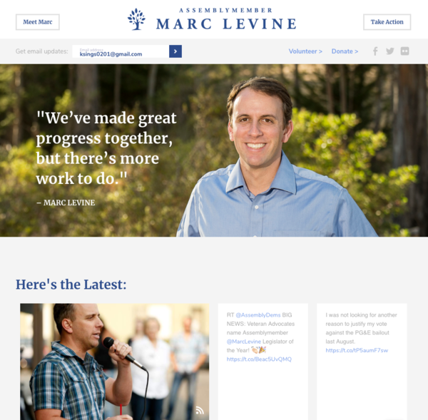 Marc Levine for State Assembly