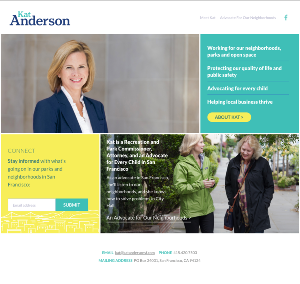Kat Anderson for SF Supervisor