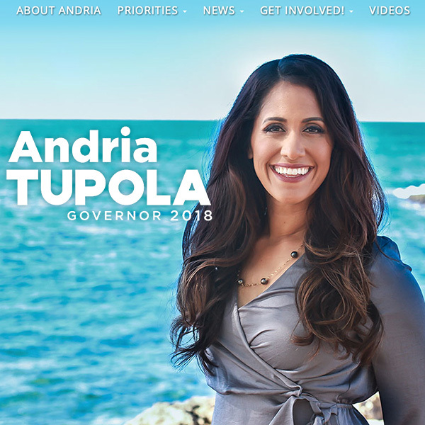 Andria Tupola for Governor