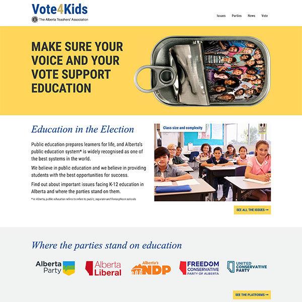 Votes 4 Kids