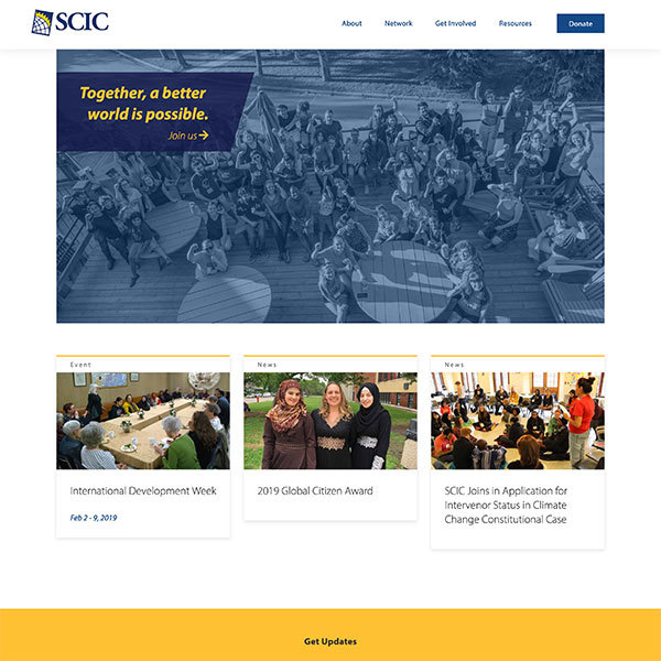 SCIC Organizational Account