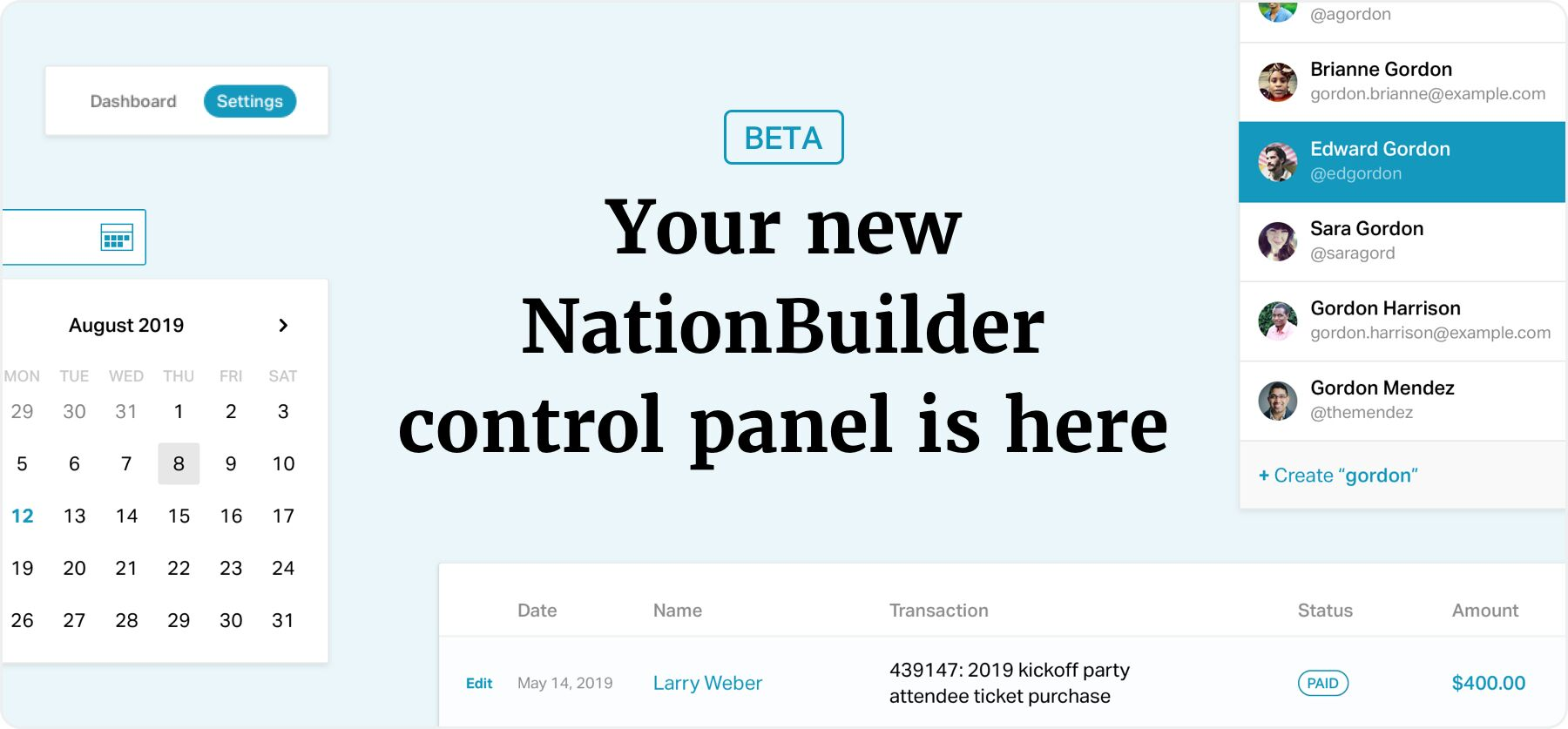 Your new NationBuilder conrtol panel is here