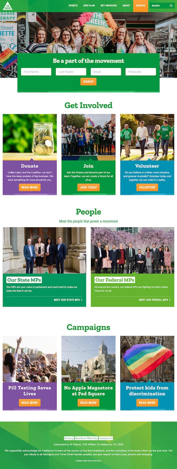 The Greens Victoria