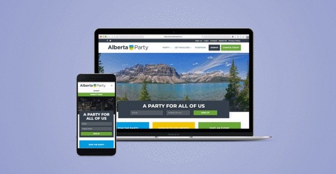 How the Alberta Party's new tech infrastructure quadrupled its vote share
