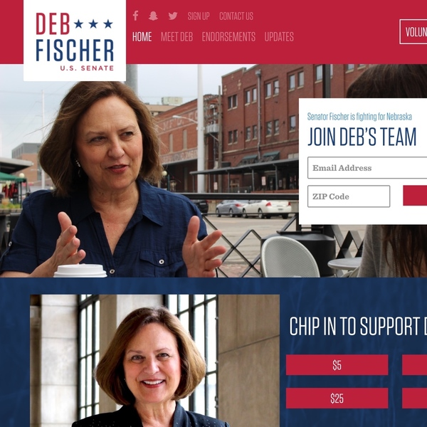Deb Fischer for U.S. Senate (2018)