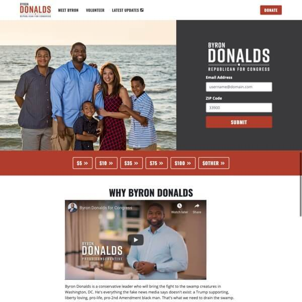 Byron Donalds for Congress