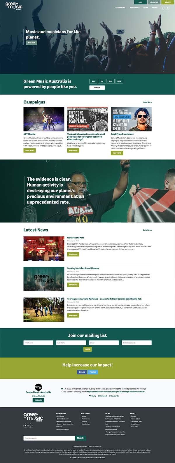 Green Music Australia