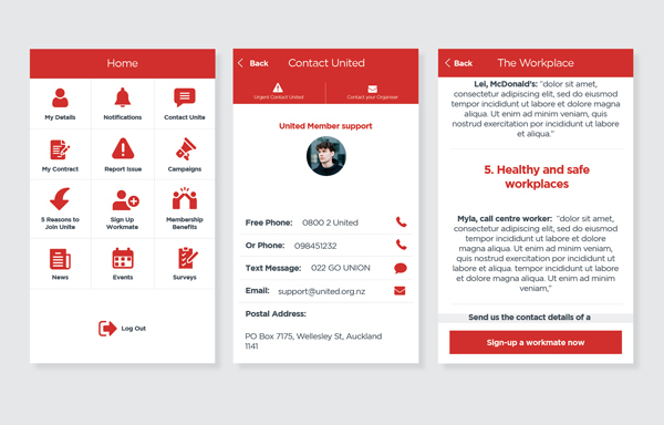 InUnion app (For Purpose project)