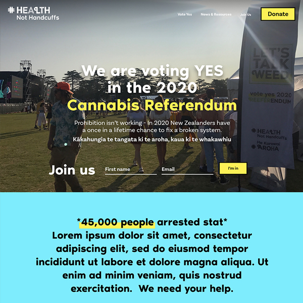 Vote Yes, NZ Drug Foundation