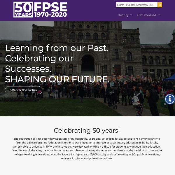 Federation of Post-Secondary Educators of BC