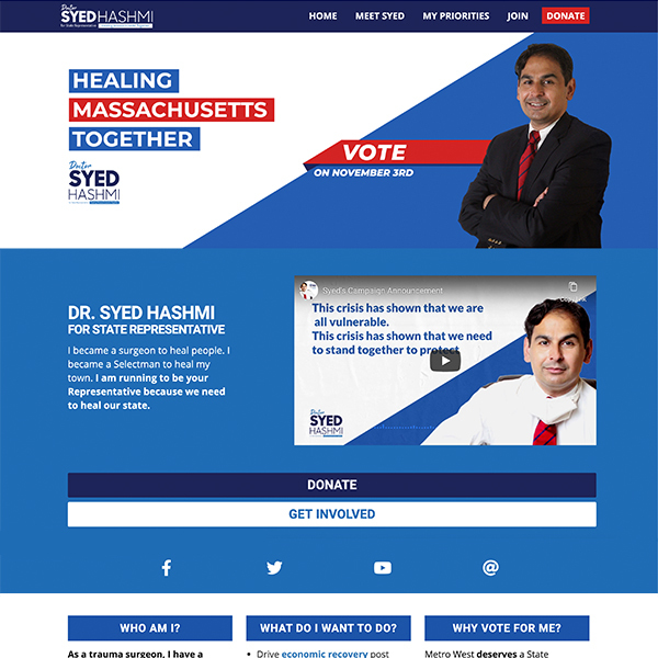 Dr. Syed for Massachusetts