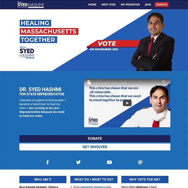 Dr. Syed for Massachusetts