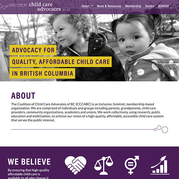 Coalition of Child Care Advocates