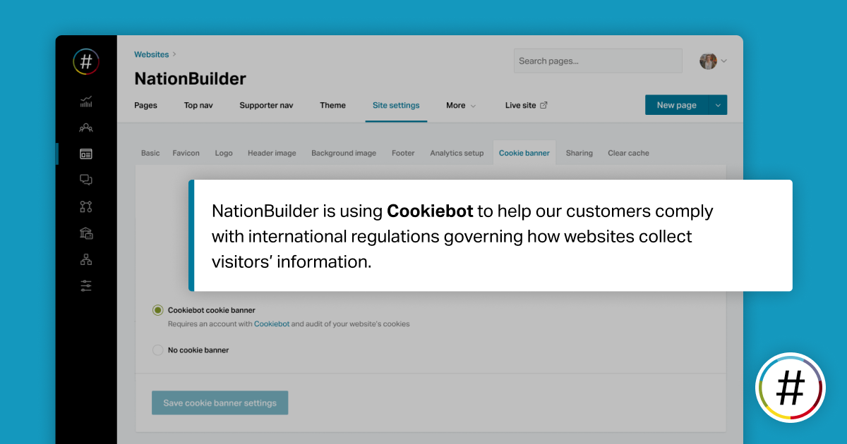 What our new cookie banner integration means for our customers