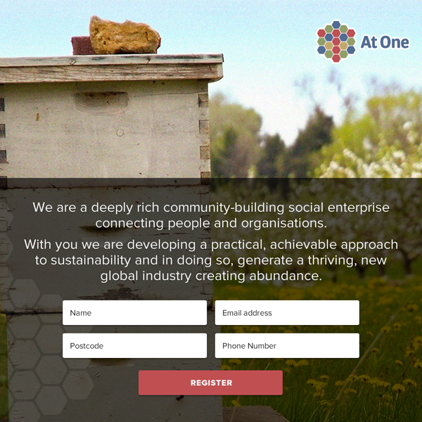 At One - Landing Page