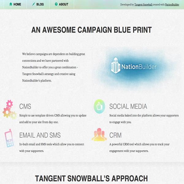 Campaign Blue Print