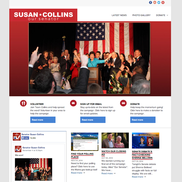 Susan Collins for Senate