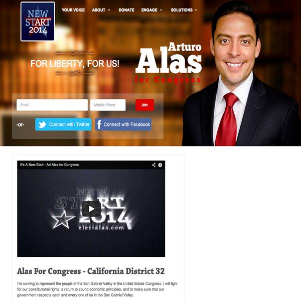Arturo Alas for Congress