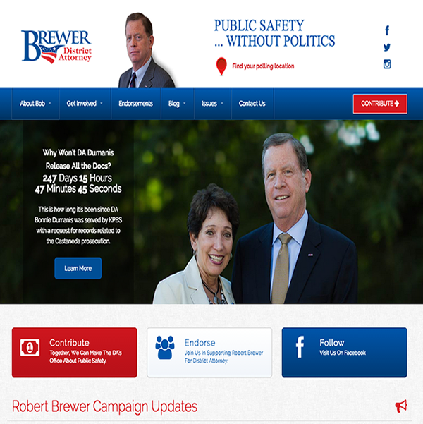 Robert Brewer for District Attorney