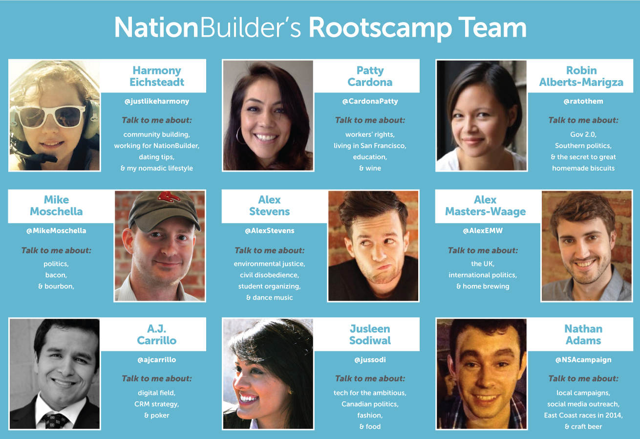 Rootscamp 2014