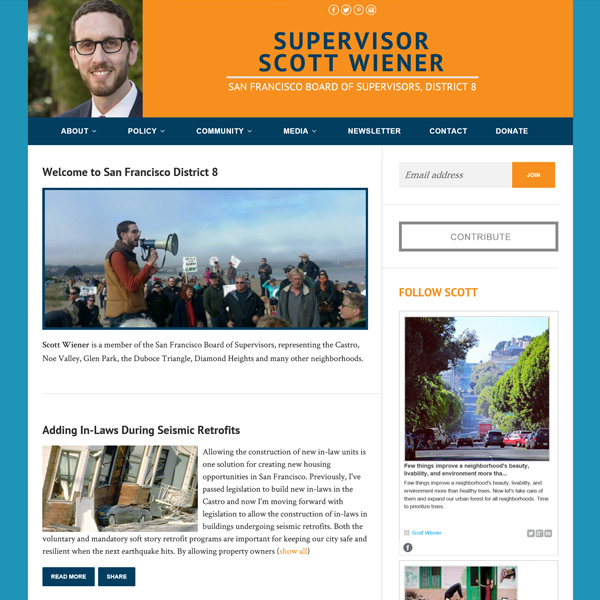 SF Supervisor Scott Wiener