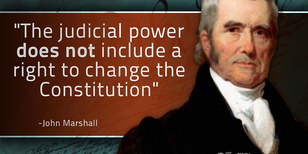 John Marshall - Judicial Power