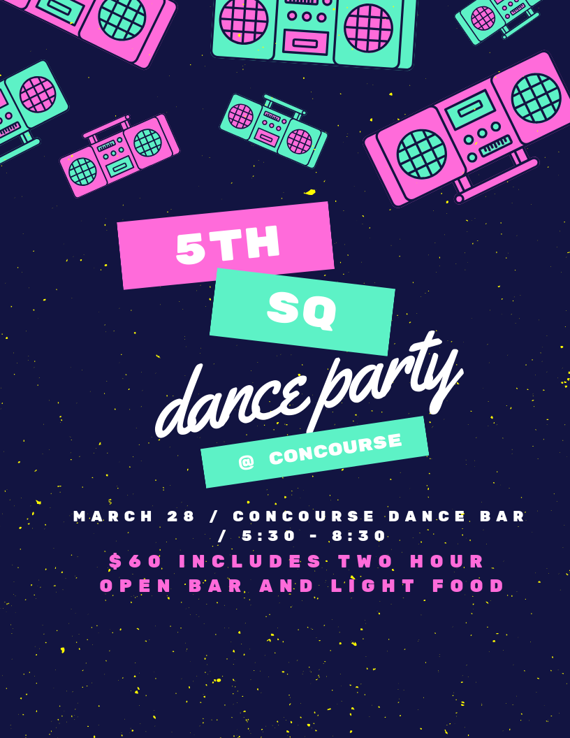 Newsletter: Party in the Concourse for 5th Square's 2019