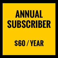Annual Subscriber, $60 per year