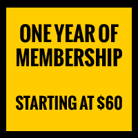 One Year of Membership, Starting at $60