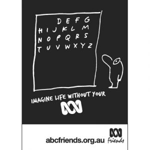 ABCF Poster - Imagine life without your ABC A4