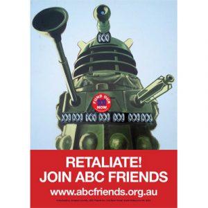 ABCF Poster - Retaliate A4