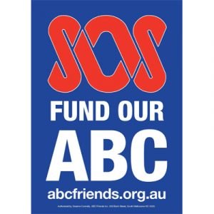 ABCF Poster - SOS fund our ABC A4