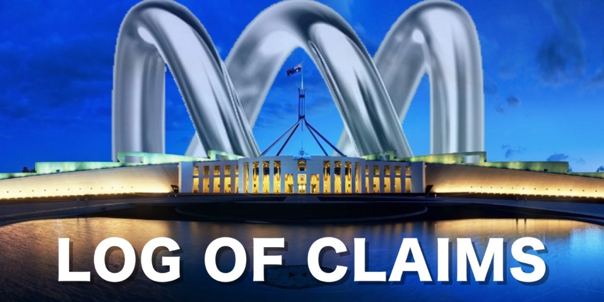 ABC Friends Log of Claims