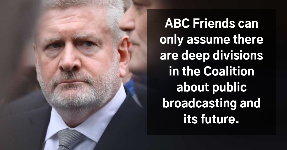 Deep divisions in Coalition over ABC