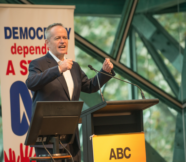 Bill Shorten gives strong guarantees at the ABC Friends Election event