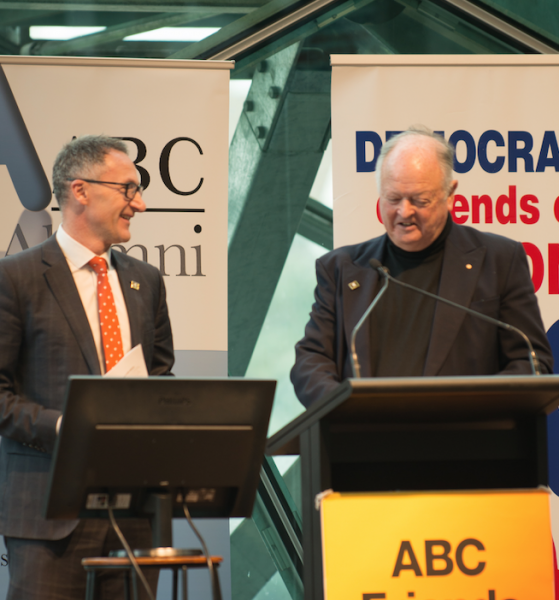 Senator Di Natale reinforced Greens commitments at the ABC Friends Election event