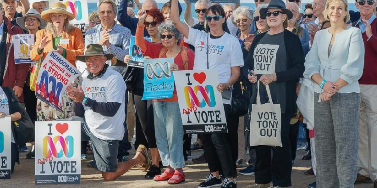 ABC Friends NSW & ACT rally in Warringah - Photography by Kate Zarifeh