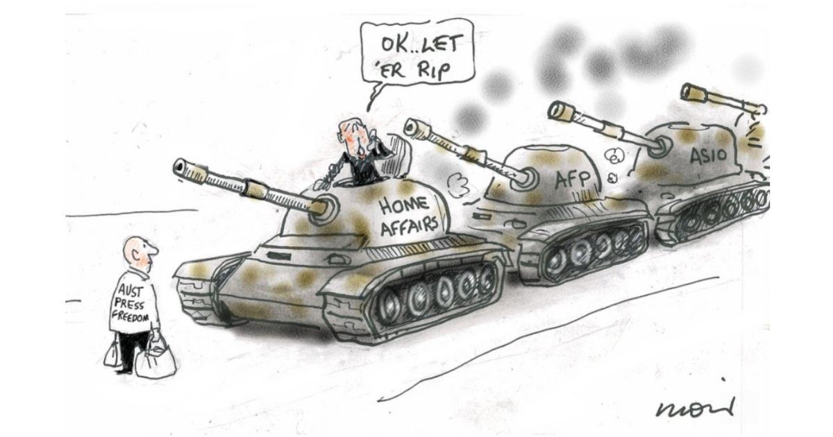 Alan Moir cartoon