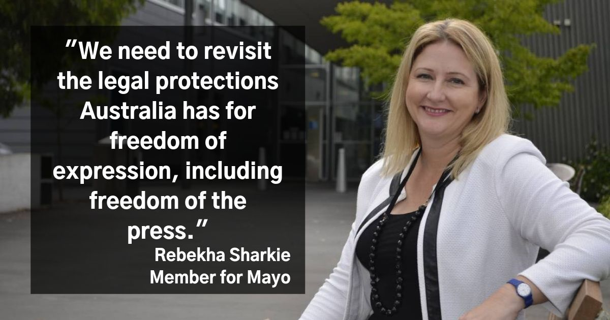 Rebekha Sharkie Member for Mayo