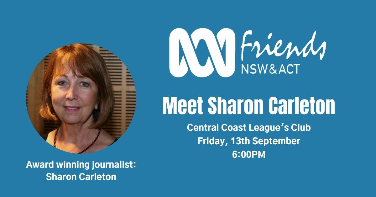 Meet Sharon Carleton