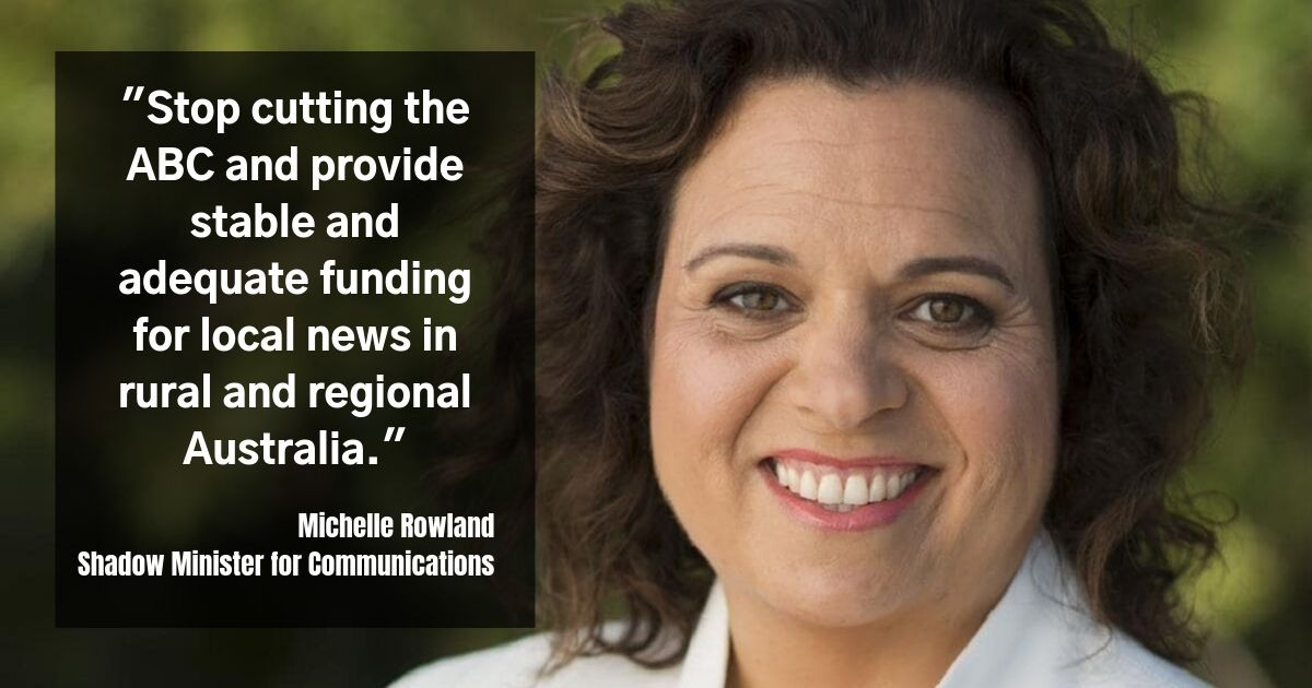 Michelle Rowland Shadow Minister for Communications
