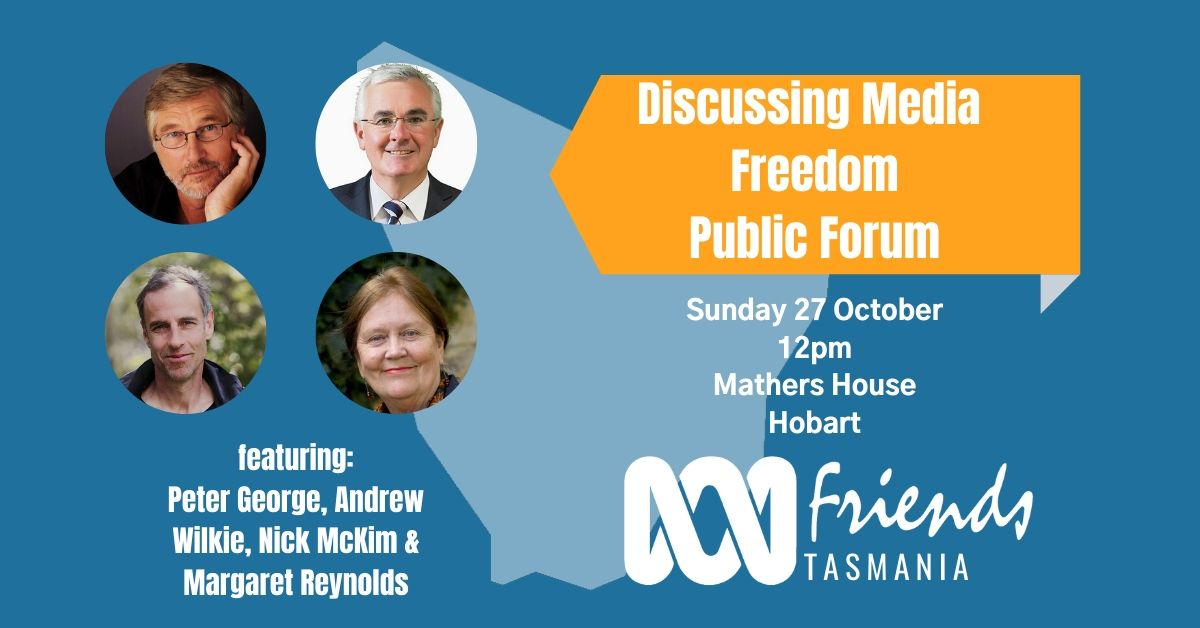 A public forum discussing Media Freedom.