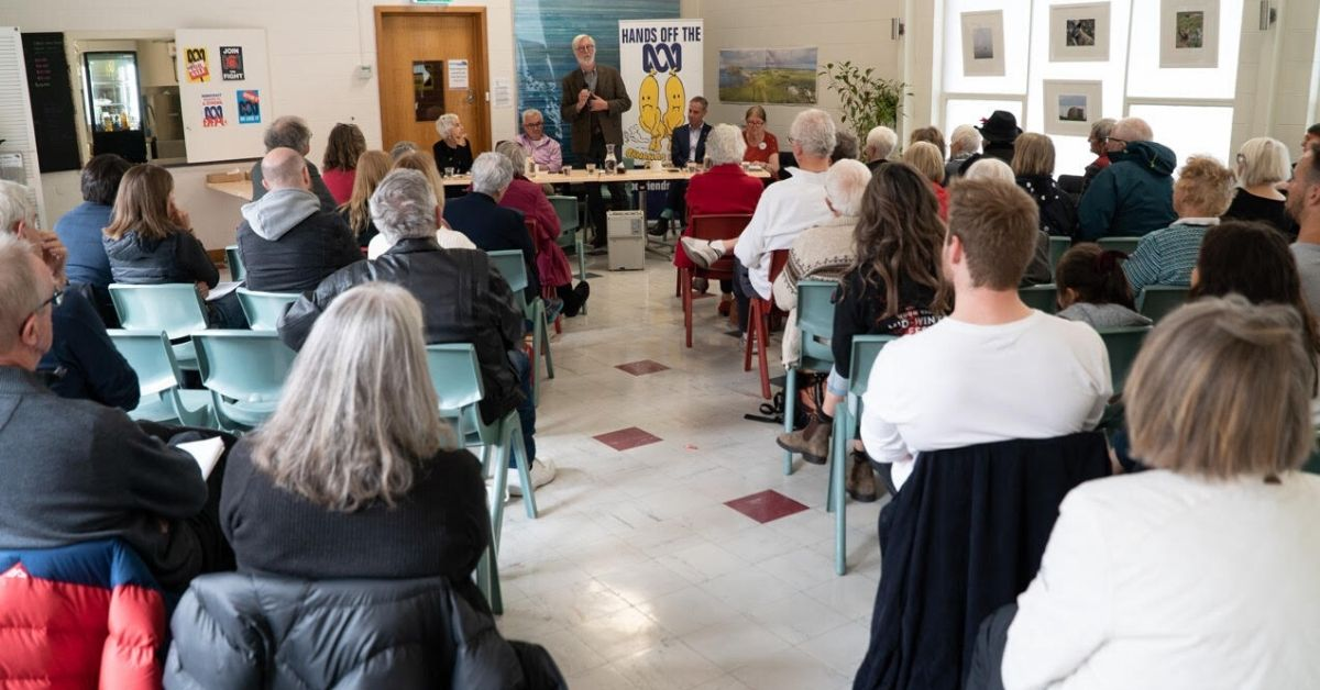 Over 60 people attended the forum which was held in Mathers House, Hobart. Photo: Lara van Raay