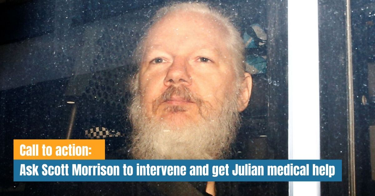 Call to action: Ask Scott Morrison to intervene and get Julian medical help